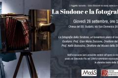 Sindone&Fotografia_26 Settembre 2019 Invito