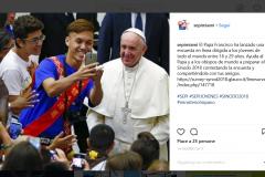 #sinodo2018 •Giovani dal Papa