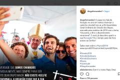 #sinodo2018 • selfie col papa